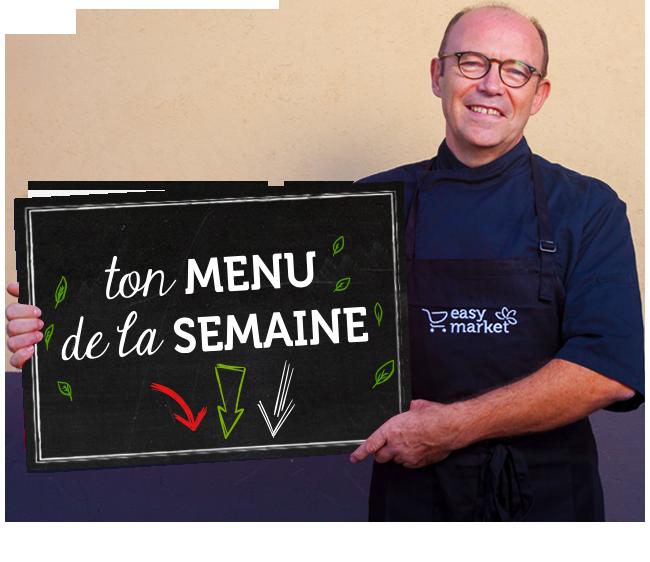 Andre - Ton menu de la semaine