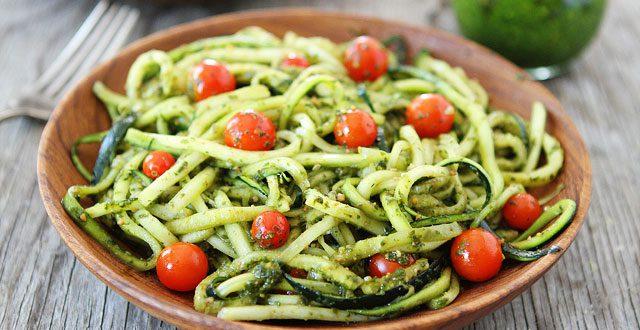 Spaghettis de courgettes, les Zoodles !
