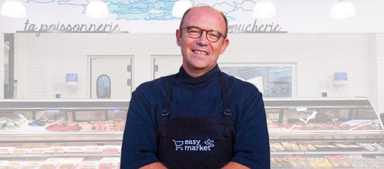 André chef cuisinier de Easy Market