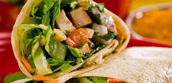 Burrito de légume