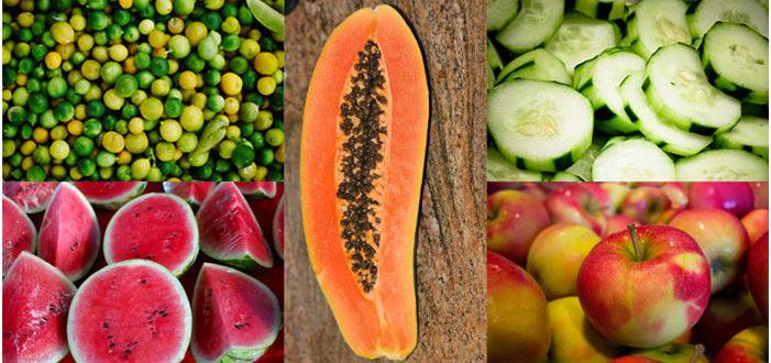 Les bons aliments pour hydrater sa peau