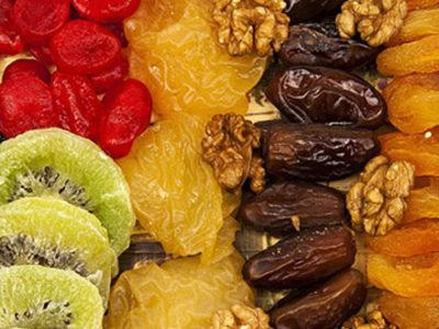 Les bienfaits des fruits secs et séchés