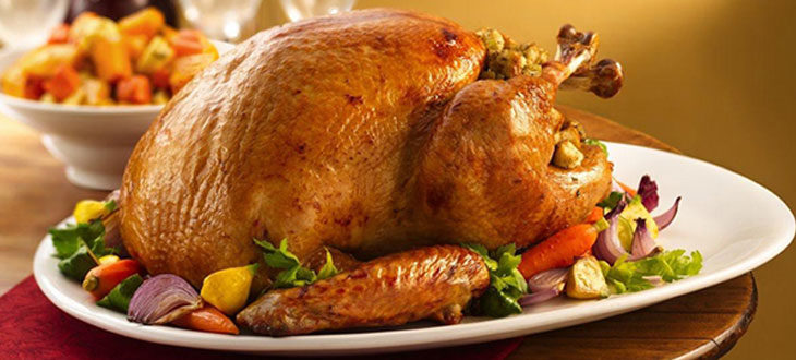 Dinde de « Thanksgiving »