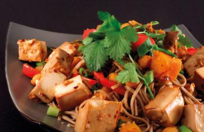 Sauté de nouilles au tofu