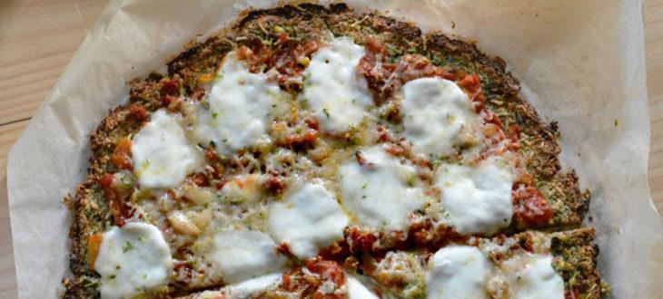 Pizza à la courgette sans gluten