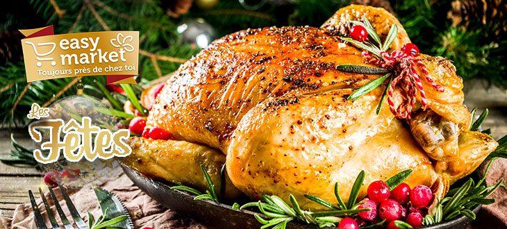 Retrouvez notre sélection de plats Easy Market pour t'offrir un jour de l'an et un Noël plus easy !