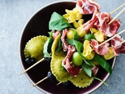 Brochettes à l'italienne